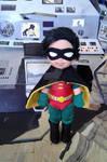 Justice Tots - Robin by Lil-Hawk