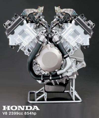 Honda announces V8 2 4L 854hp engine based off of 1000RR