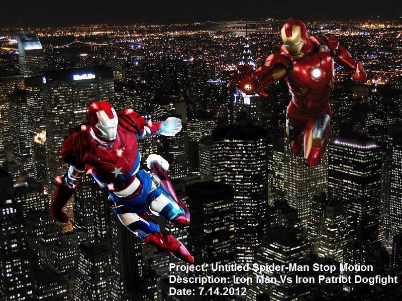 TF/Marvel Concept Art #1: Iron Man vs Iron Patriot by ...