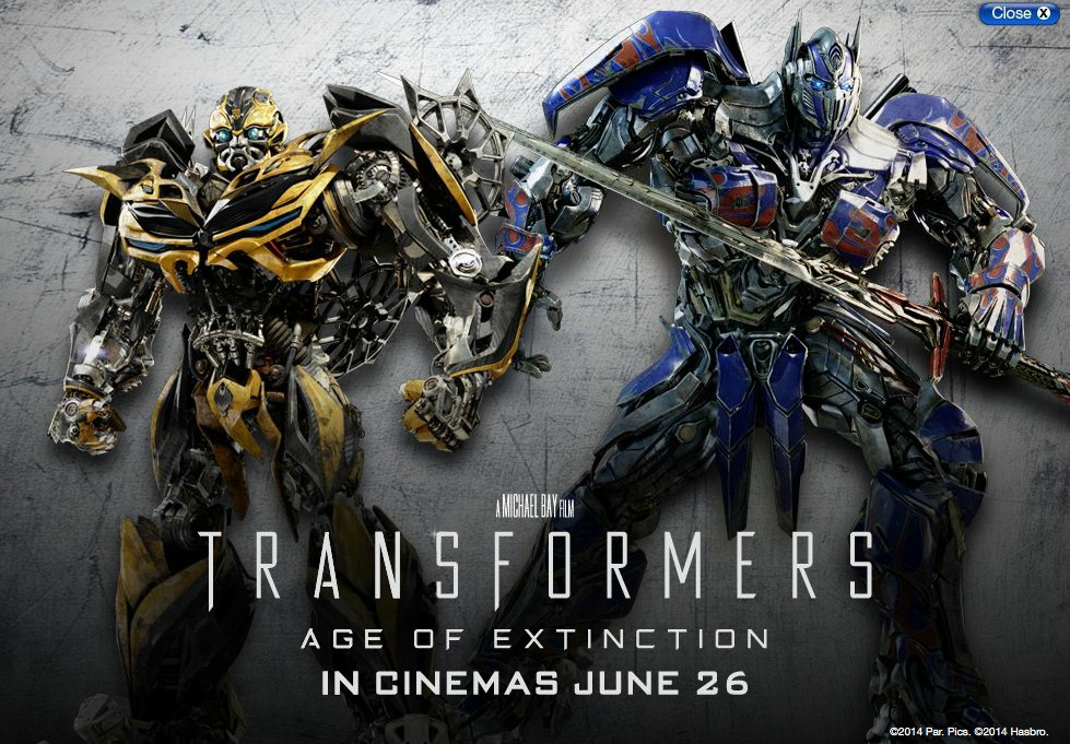 Age Of Extinction Bumblebee And Optimus Renders By Eagc7