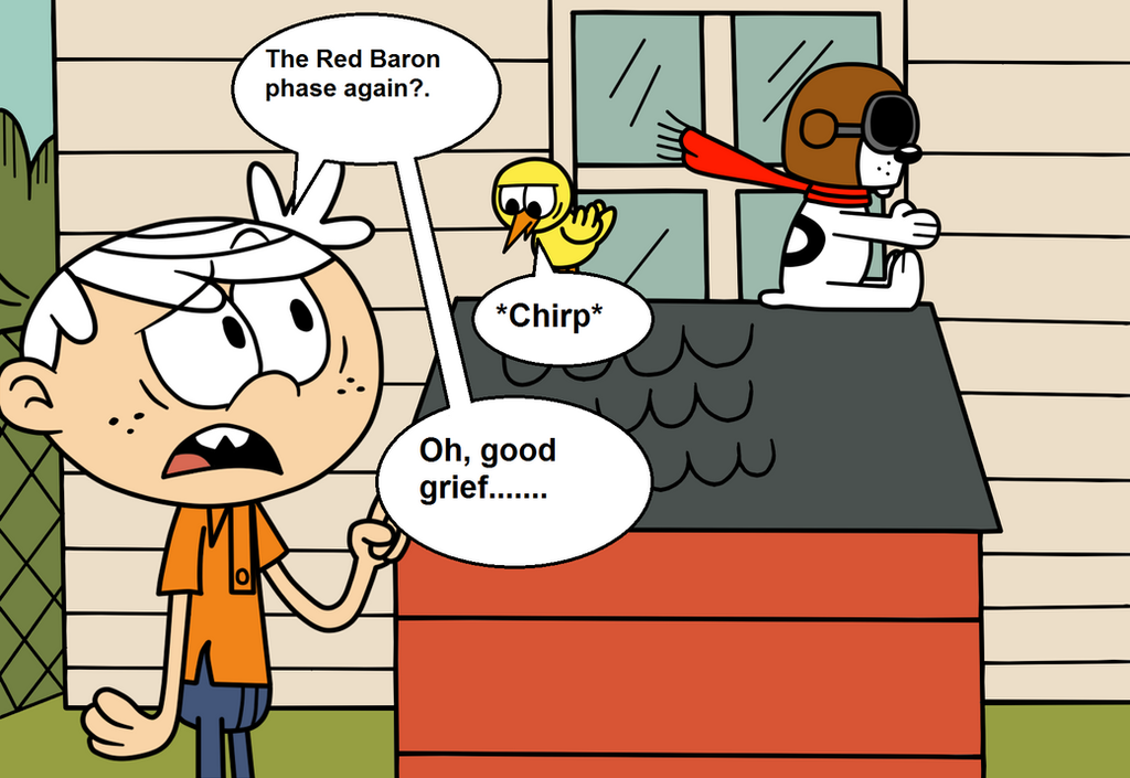 Charles and The Red Baron by eagc7 on DeviantArt