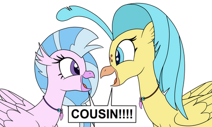 COUSIN!!!! by eagc7