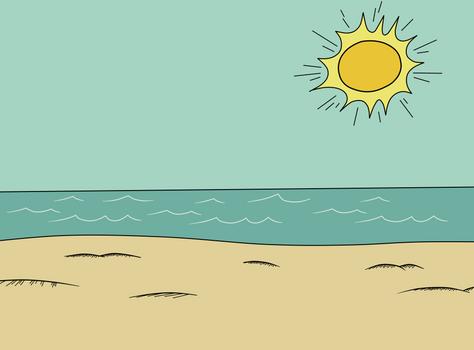 The Loud House - Beach Background