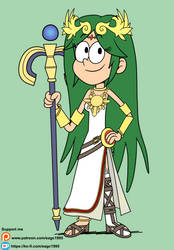 Palutena in The Loud House Style