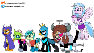 (Commission) The Friendship Titans