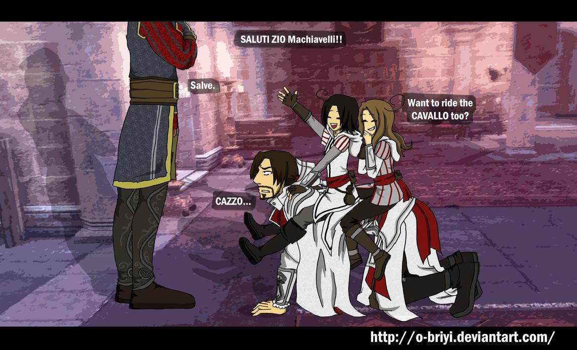 ACC Ezio Cavallo by o-Briyi