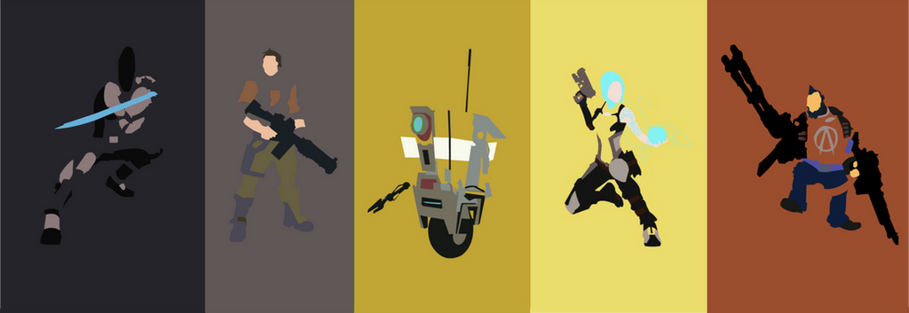 Borderlands 2 Playable Characters with Clap Trap by ...