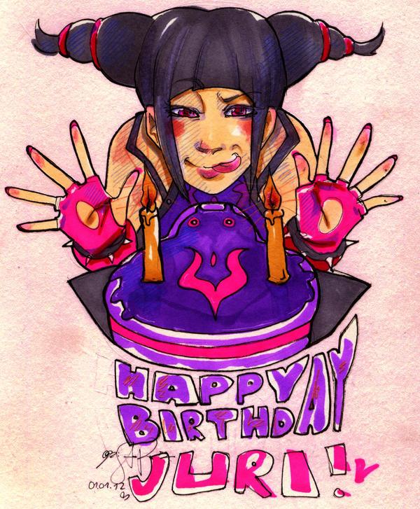 Happy Birthday Juri by santichan