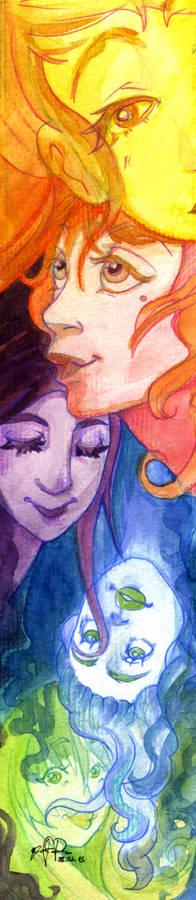Colorful bookmark