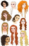 ASOIAF ladies