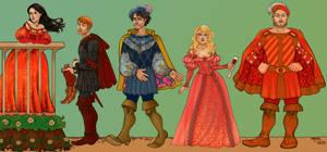 the Field: Tudors characters I