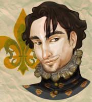 Francois I study by CourtneyTrowbridge