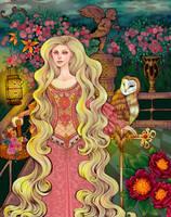 Rapunzel's balcony by CourtneyTrowbridge