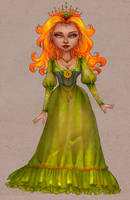 Storybook princess by CourtneyTrowbridge