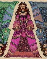 paisley princess by CourtneyTrowbridge