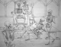 Skeleton toast by CourtneyTrowbridge