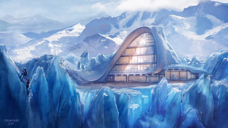 Glacial Hall by CourtneyTrowbridge