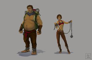 Westerland characters by CourtneyTrowbridge