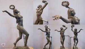 Tambourine dancer by CourtneyTrowbridge