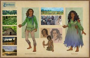 Earthsea costume concepts - Gont by CourtneyTrowbridge