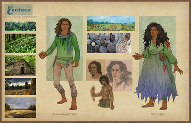 Earthsea costume concepts - Gont