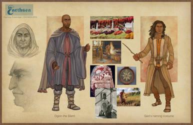 Earthsea costume concepts - Gont II