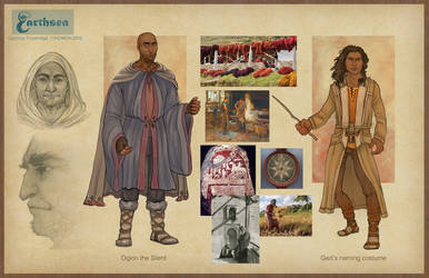 Earthsea costume concepts - Gont II by CourtneyTrowbridge