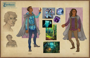 Earthsea costume concepts - Roke by CourtneyTrowbridge