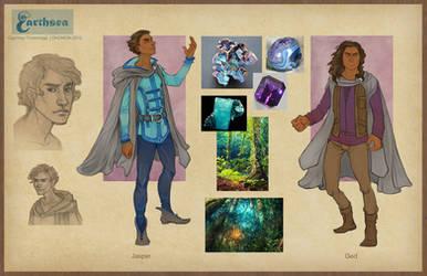 Earthsea costume concepts - Roke