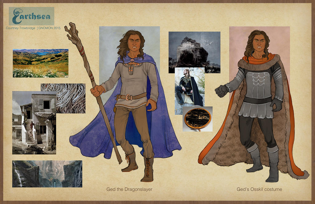 Earthsea costume concepts - Low Torning, Osskil by CourtneyTrowbridge