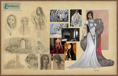 Earthsea costume concepts - Serret
