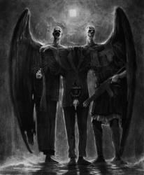 Triumvirate by vergvoktre