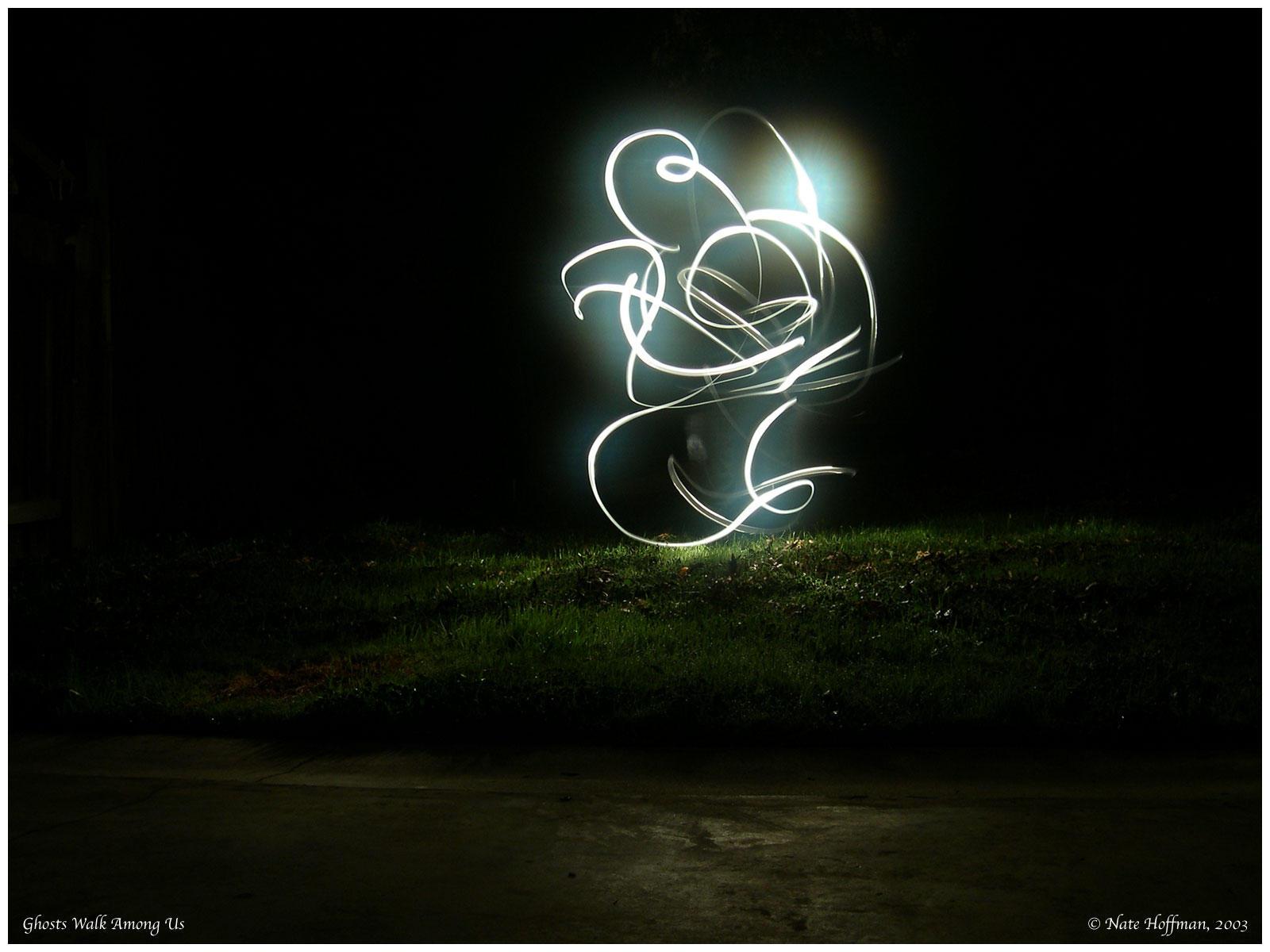 Ghosts Walk Among Us by strangledbyart