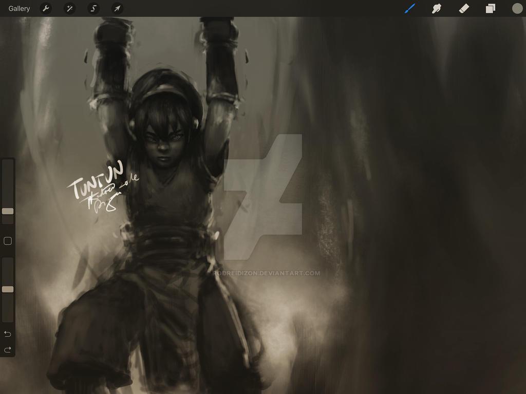 Something im working on, The Blind Bandit by rodreidizon