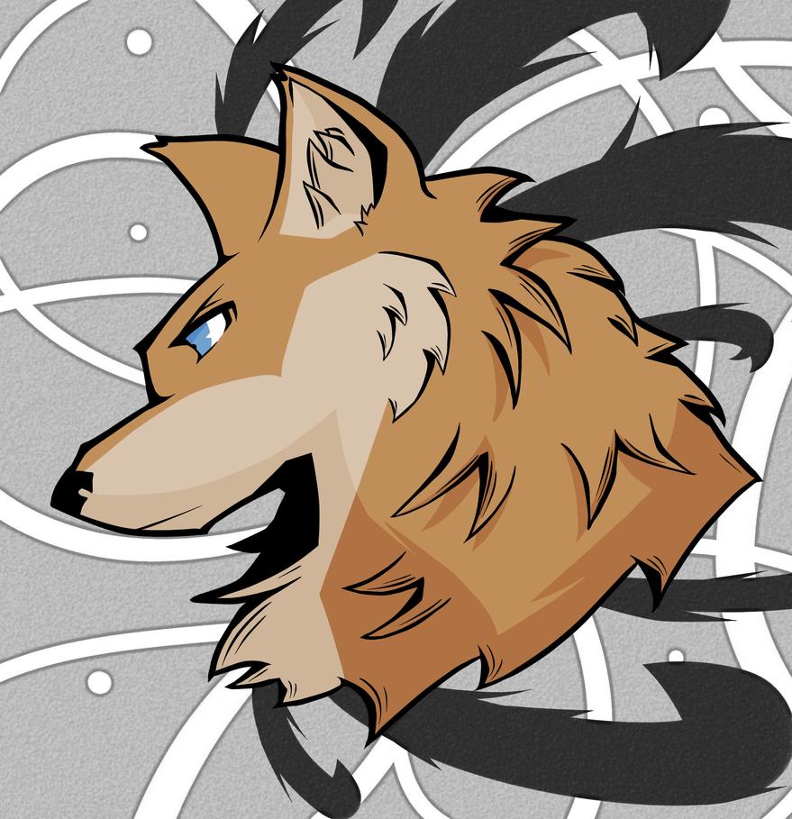Wolf Head by Sorakirbys