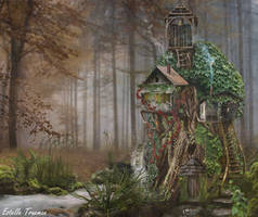 Tree House Lodge by needcaffine