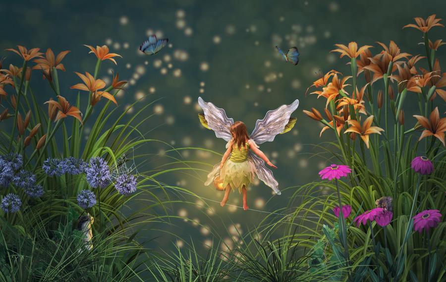The Garden Fairy, Mila #1 by needcaffine