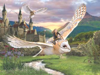 Ally's Owl by needcaffine