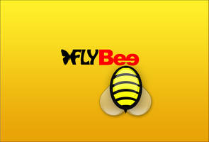 Free Bee Logo PSD by fruitygamers