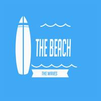 Beach Logo PSD by fruitygamers