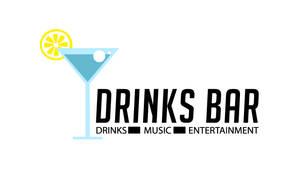 Drinks Bar Free Logo PSD by fruitygamers