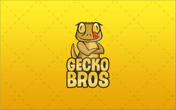 Fun Gecko Logo For Sale  Reptile Logo by fruitygamers