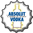 Absolut Vodka bottlecap by FlameFame