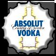 Absolut Vodka bottlecap by FlameFame