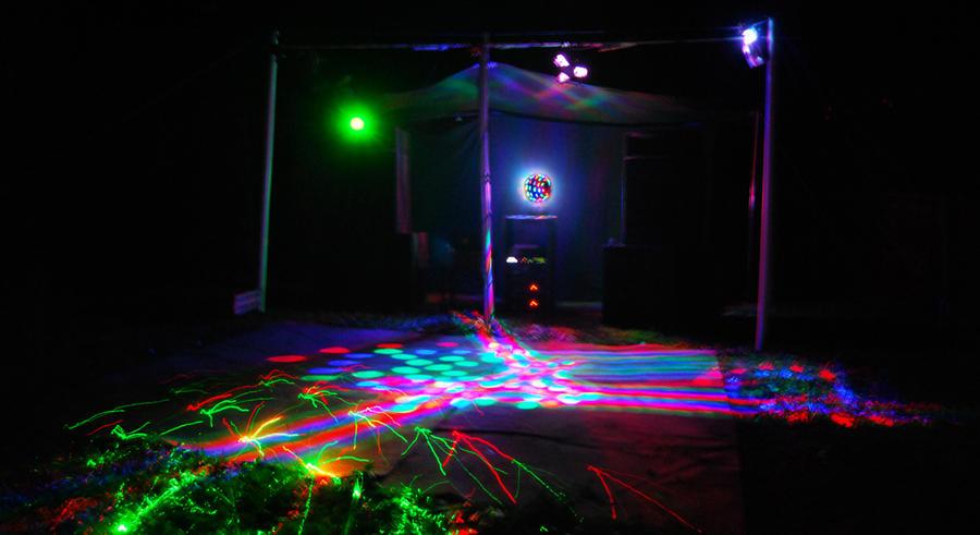 Live DJ Lighting Setup By Downunderaudio