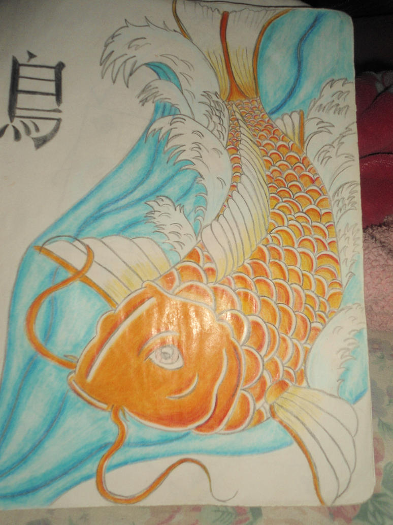 Koi fish by marietophrico on deviantart for Ph for koi fish