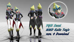 MMD Kaito Tenjo Vers.4 DL by TwoSidedMMD