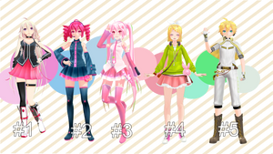 [+50Watch]MMD Pose pack #1Download by TwoSidedMMD