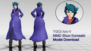 MMD Shun Kurosaki Vers. 1.1 Updated by TwoSidedMMD