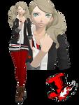 MMD Ann Takamaki(Uniform) Download by TwoSidedMMD